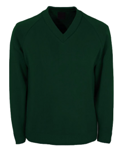 V-neck-sweatshirt