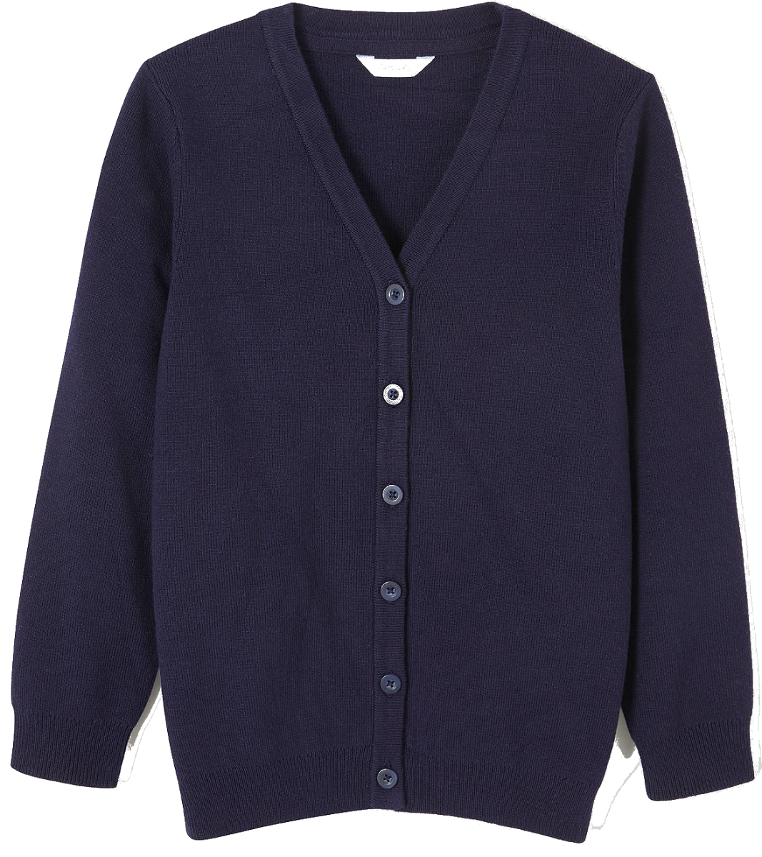 Navy-Knitted-Cardigan